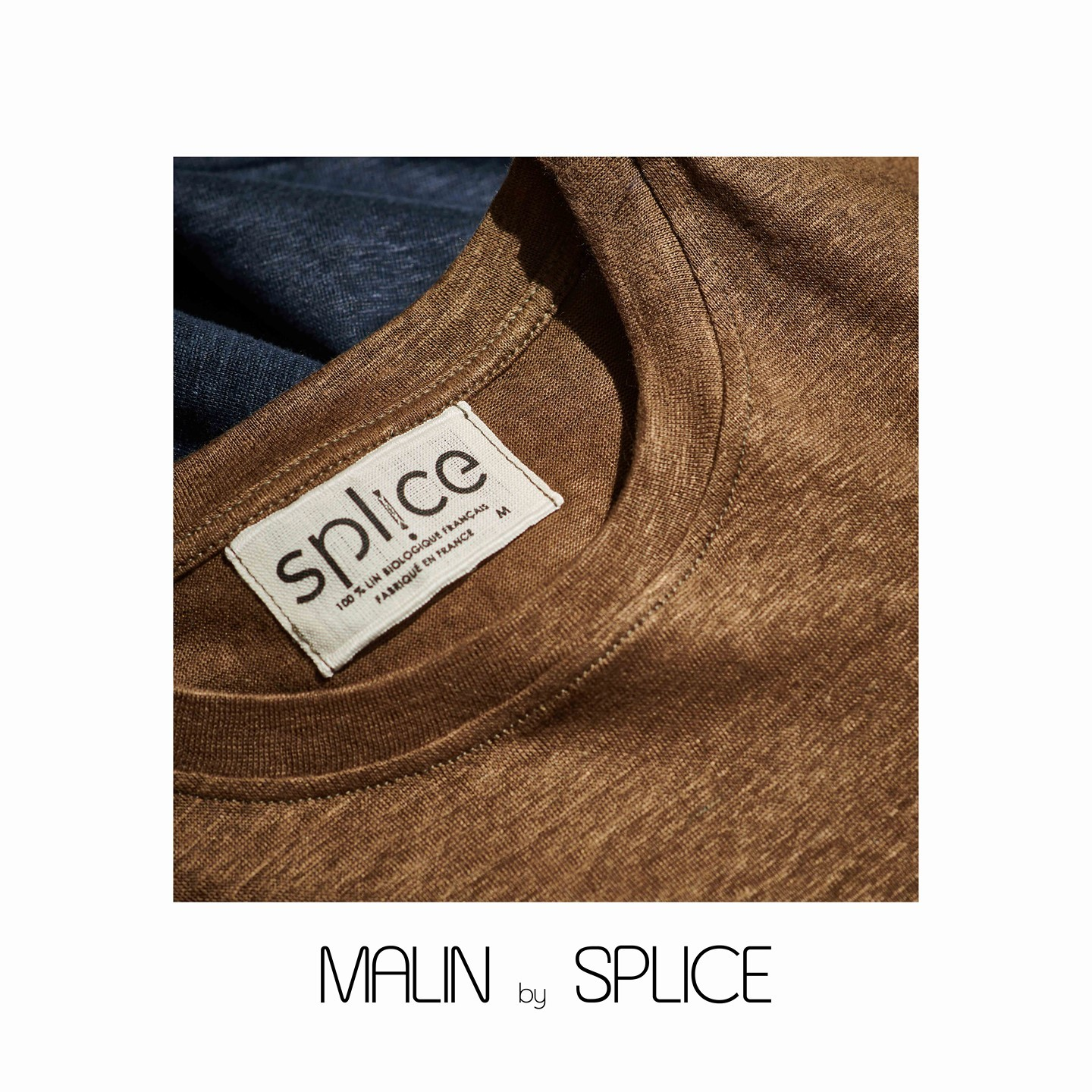 "Notre SPL!CE ""Malin"" en lin biologique pour les journées fraiches d'automne -⁠ -⁠ -⁠ Our long sleeves heavy linen tee shirt -⁠ -⁠ -⁠ #spliceparis #madinfrance #frenchlinen"